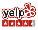 4.5 Star Rating on Yelp